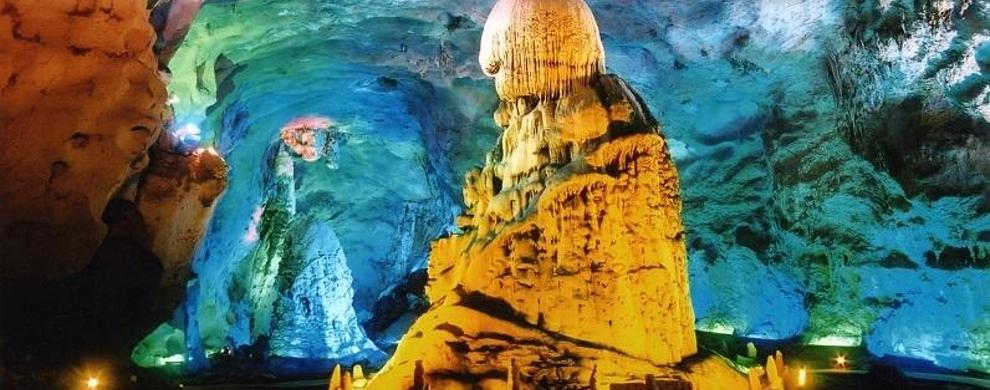 灵岩洞:天然的自然与人文景观为一体的风景名胜区
