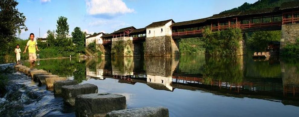 彩虹桥:漫步古老廊桥