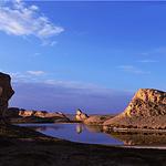 大柴旦水上雅丹地质公园