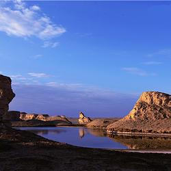乌素特(水上)雅丹地质公园