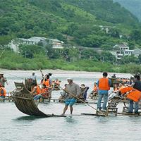 楠溪江甸园竹筏漂流