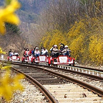 江村铁路单车