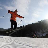 临安大明山滑雪场