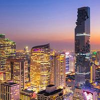 曼谷王权云顶大楼Mahanakhon skywalk