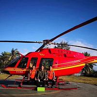 亚龙通航直升机