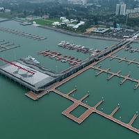 海口市国家帆船基地公共码头