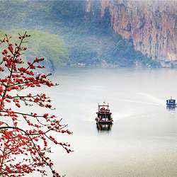 中旅宁明花山岩画景区