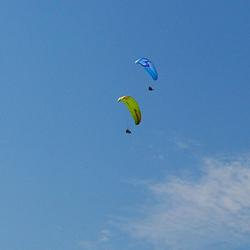 南宁笔架山滑翔伞基地