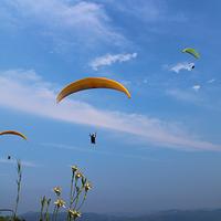 兴隆山滑翔伞基地