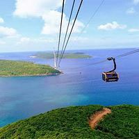 富国岛香岛公园跨海缆车