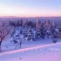 长白山雪岭