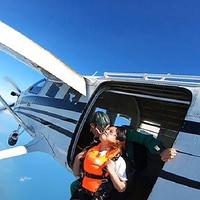 琼海博鳌海上跳伞基地