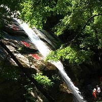 花脖山国家森林公园百瀑峡