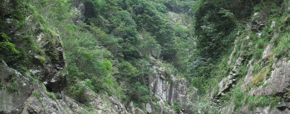 大松溪峡谷