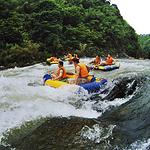 龙王山峡谷漂流