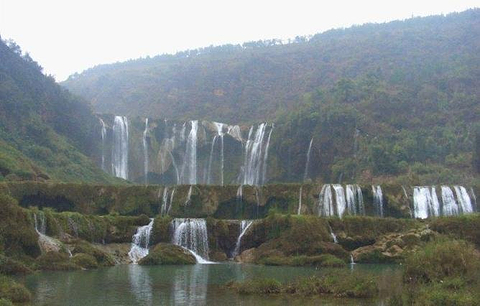 横县九龙瀑布群旅游景点大全,横县九龙瀑布群旅游玩法攻略 去哪儿网高清图片