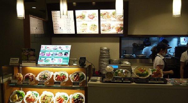 新光三越南西店美食街