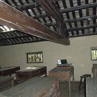 毛泽东的课桌