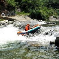 鲤溪皮筏漂流