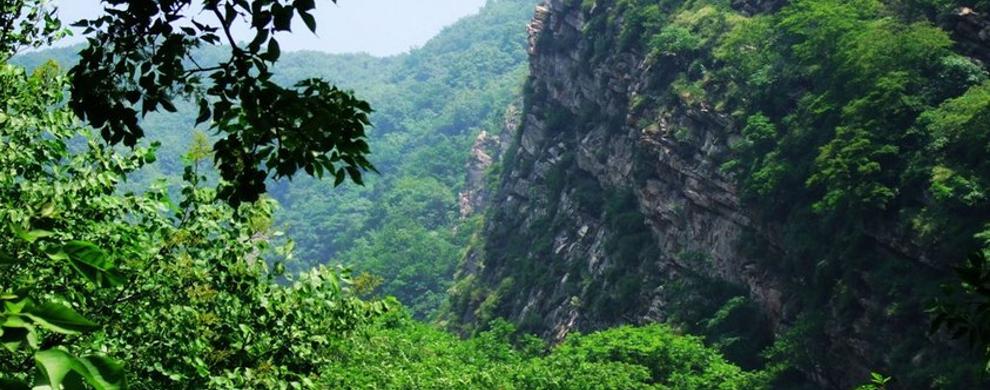 石英岩峰林峡谷