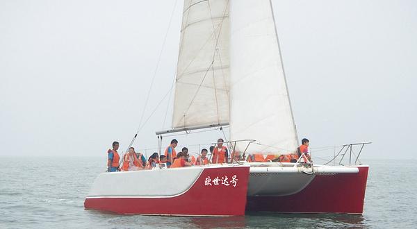 海军帆船简笔画图片