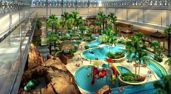 酒店占地面积234亩,建筑面积54560平方米,投资近6亿元人民币.