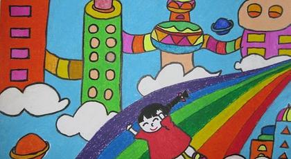 来世界 儿童画获奖作品 61幼儿网