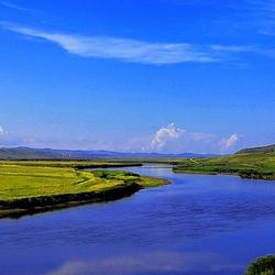 额尔古纳界河