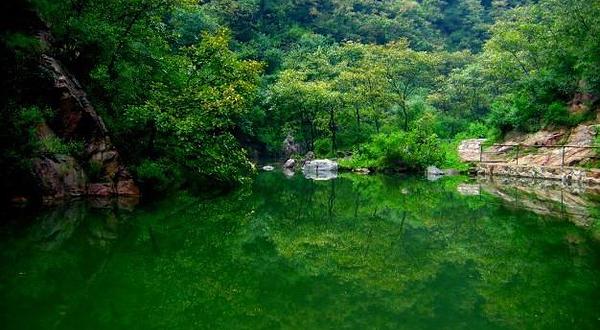 九里沟景区是王屋山国家风景名胜