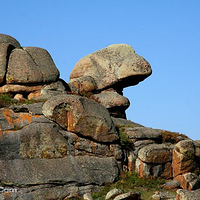 吉木乃神石城地质公园