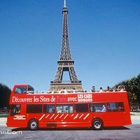 随上随下双层巴黎城市环游观光巴士