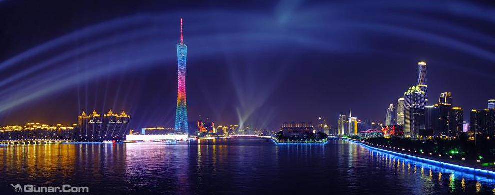 夜中广州塔