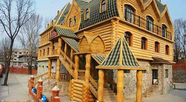欧式风情乡村小屋