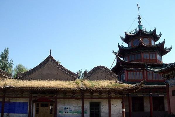 陕西特色建筑手绘