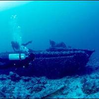 塞班岛潜水洞