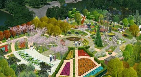 世界国花园