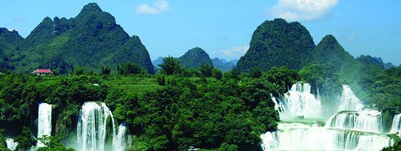 广西最美瀑布