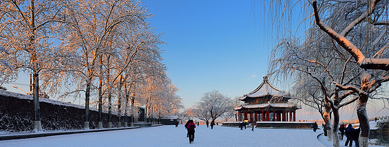 北京最美雪景