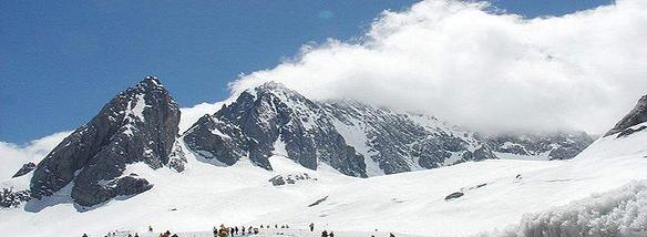 壮美大雪山