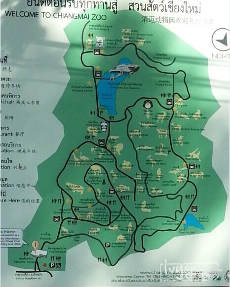 动物园地图