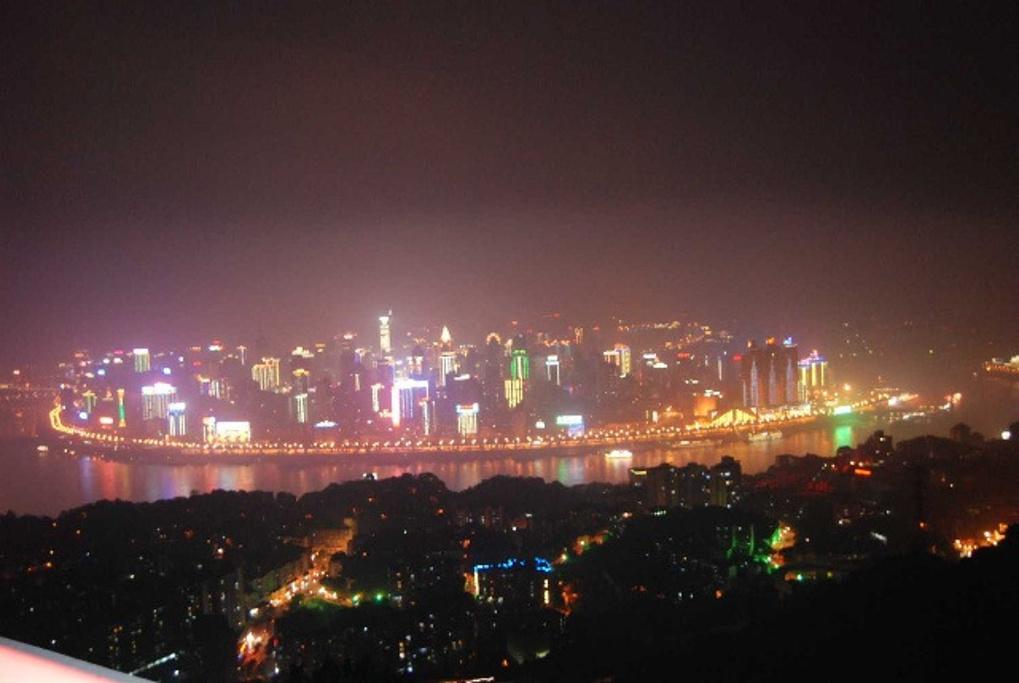 """"""" 最好是晚上去,才能欣赏到重庆的夜景_南山一棵树观景台""""的评论图片"""