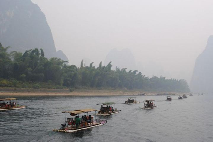 漓江是桂林旅游中山水风光最美的地方了 漓江评论 去哪儿攻略社区图片