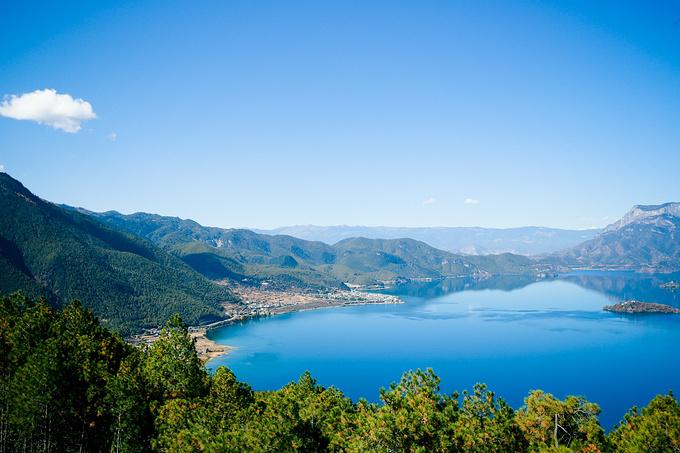云南泸沽湖_丽江旅游攻略 云南,做梦都想到达的净土~  看完泸沽湖,原来这世界居然