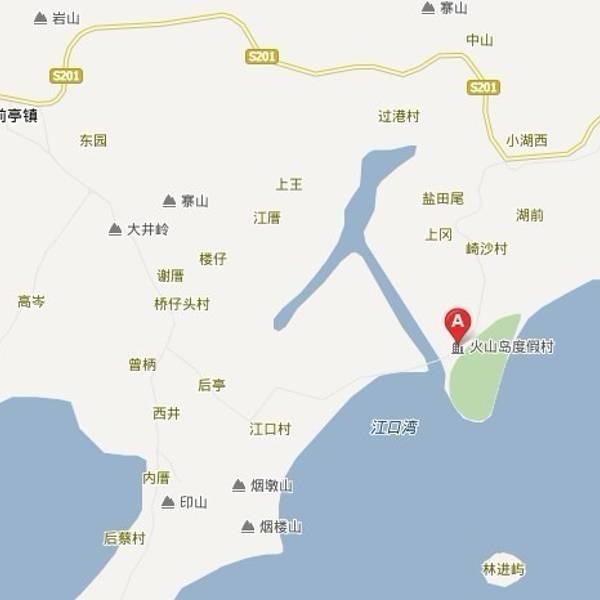 成都香山半岛地图