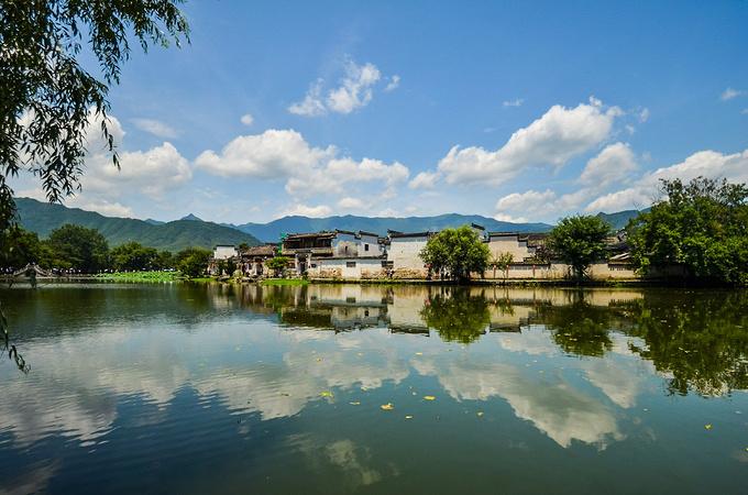 宏村风景区图片