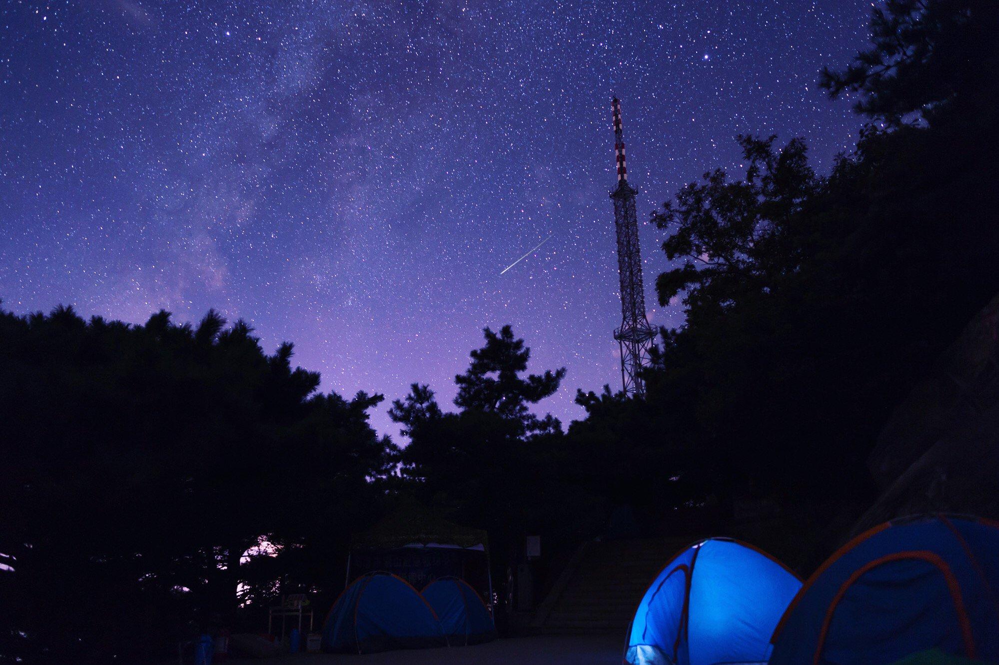 登上沂蒙山巅追寻星空的脚步