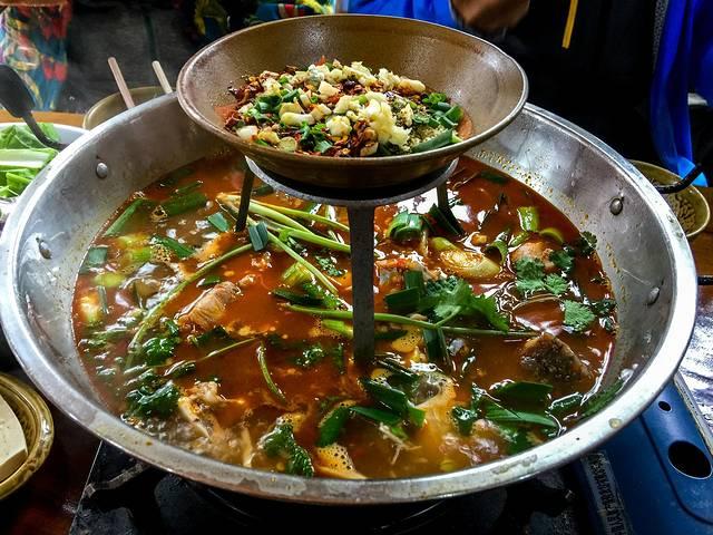 一路向南:海南至四川的冬季美食谷之旅豆图片