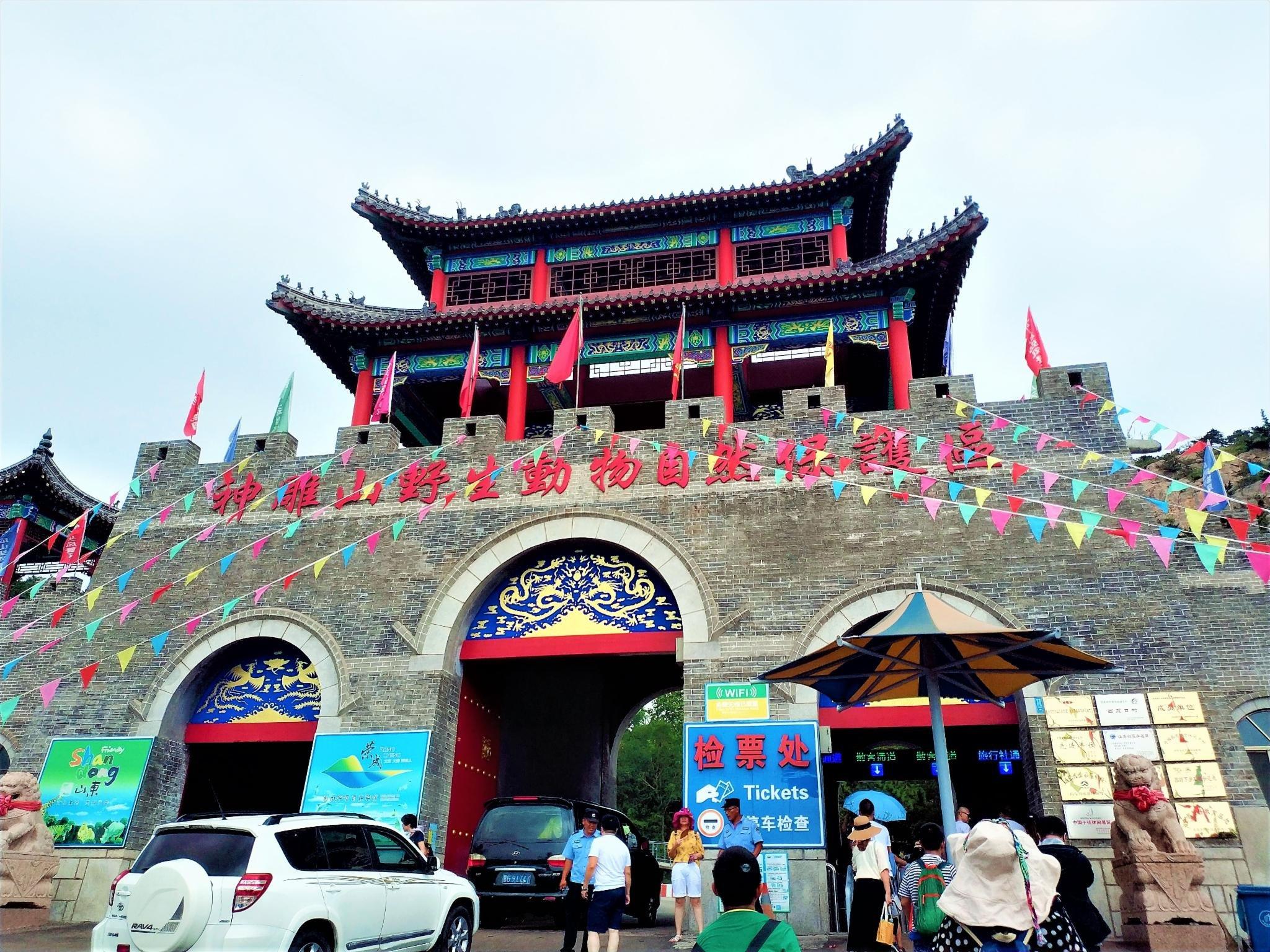带着孩子去旅行 西霞口神雕山野生动物园