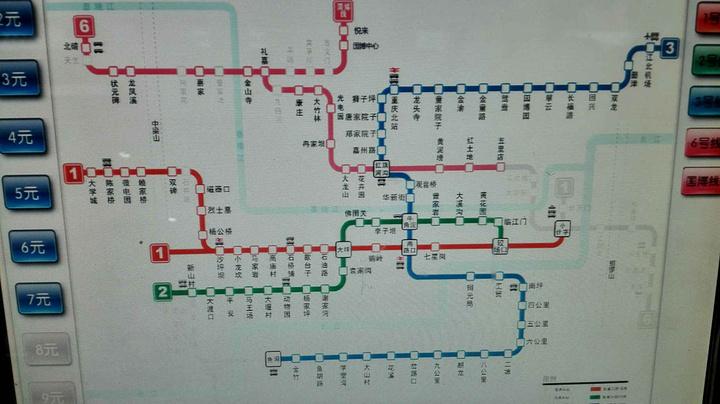 重慶輕軌共有6條線路,交通便利圖片