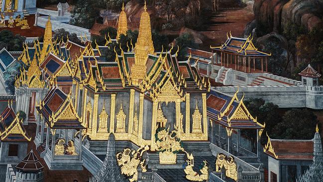 动画皇宫背景素材